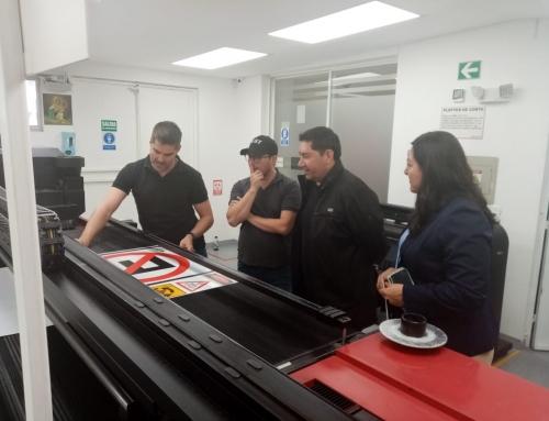 Visita de Representantes de la Empresa ST Drive